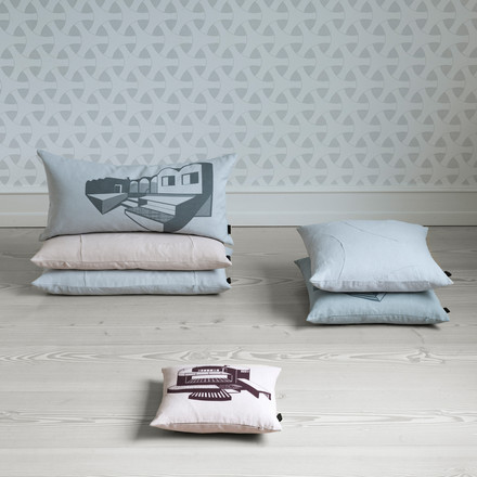 Various versions of the by Lassen - Flow cushions
