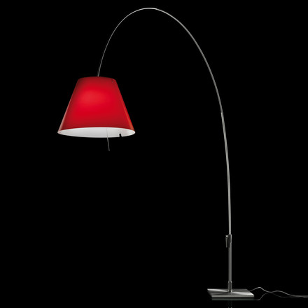 Luceplan - Lady Costanza Floor Lamp, red