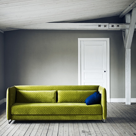 Softline - Metro Bed Sofa, green