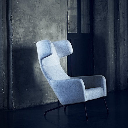 Softline - Havanna Armchair, light grey