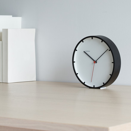 Mondo - Tick Wall Clock, black - on the table