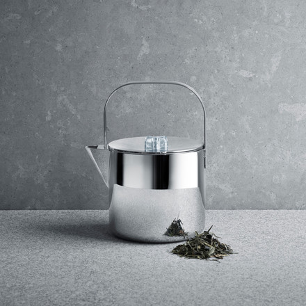 Georg Jensen - Tea with Georg teapot - with tea leaves