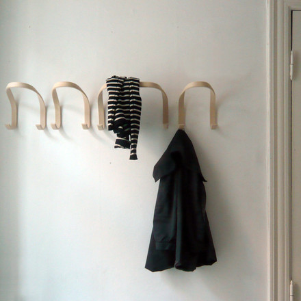 Simple Hooks made from Wood