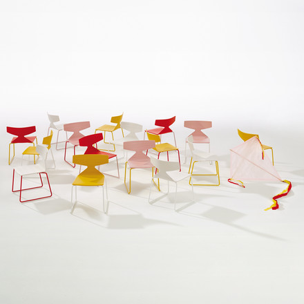 Arper - Saya Chair - group