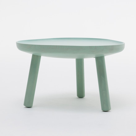 The Karimoku New Standard - Soft Triangle coffee table in green