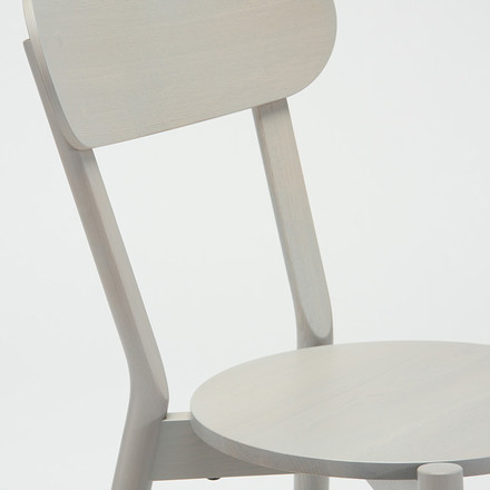 The Karimoku New Standard - Castor Chair in grey