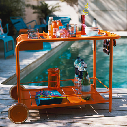 Fermob - Luxembourg Trolley, orange