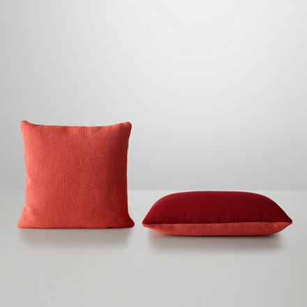 Muuto - Mingle Cushion, red - two cushions