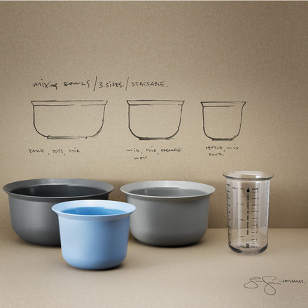 Rig-Tig by Stelton - Measurin cup, 1L / mixing bowls