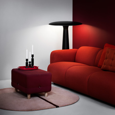 Normann Copenhagen - Swell 3-seats, red