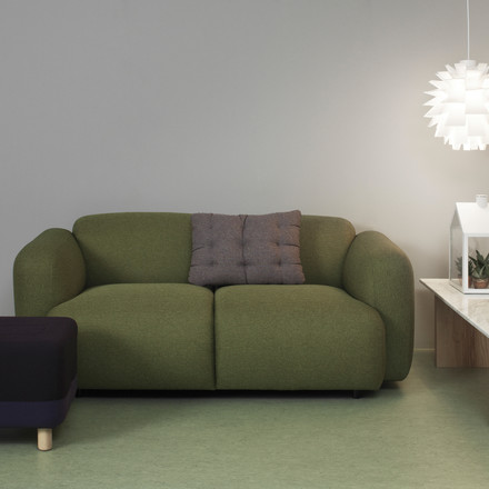 Normann Copenhagen - Swell 2-seats, green
