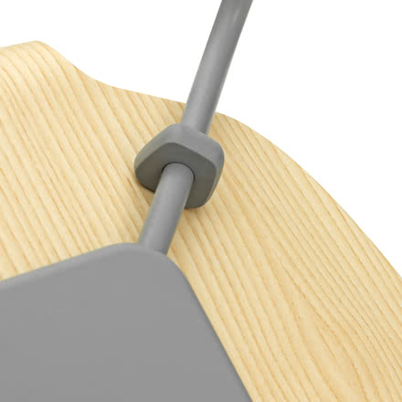 Normann Copenhagen - My Chair, ash / grey - details, base