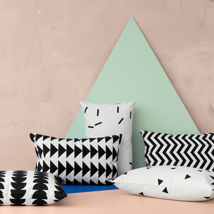Ferm living - Black Mini cushion