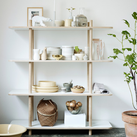 Skagerak - DO Shelf, 4 compartments, ambience image