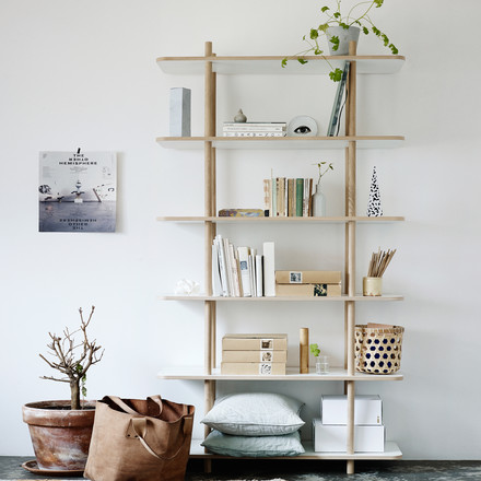 Skagerak - DO Shelf, 6 compartments, ambience image