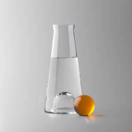 Design House Stockholm - Fia Carafe, clear / amber - water, situation image