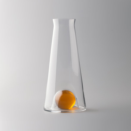 Design House Stockholm - Fia Carafe, clear / amber, situation image