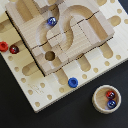 cuboro - Tricky ways marble run strategy game - details, start