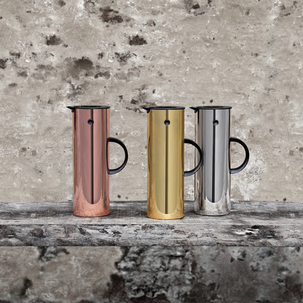 Stelton - Insulated flask EM 77, 1 l - Metal, ambience image