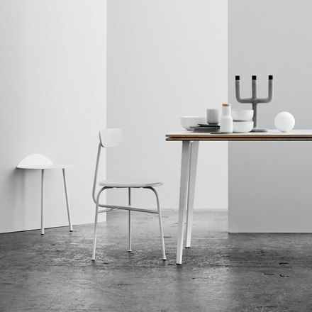 Menu - Afteroom Chair, white