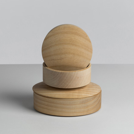 Hay - Lens Box / Lid, maple - stackered