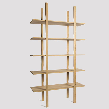 Hay - Wooden Shelf, 25 - lateral