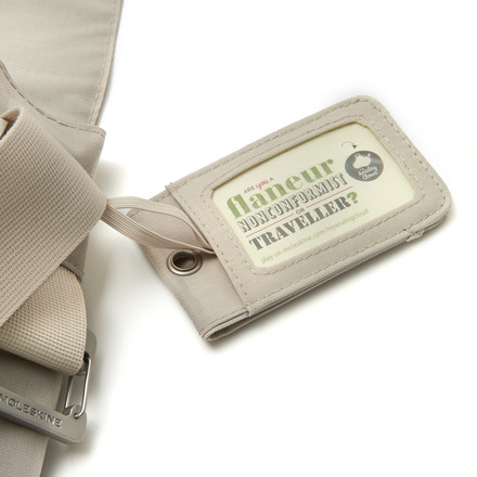 Moleskine - myCloud Reporter's bag, khaki - luggage label