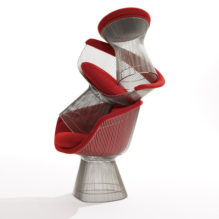 Knoll - Platner Armchair, group image