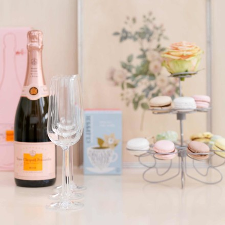 Rosendahl - Grand Cru Champagne Glasses with Bottle