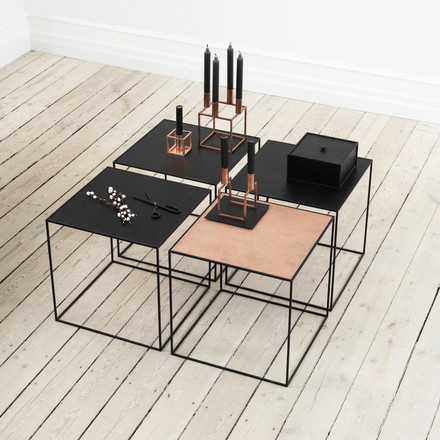 Combinable side table by by Lassen