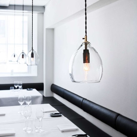 The Unika Pendant Lamp by northernlighting in small, transparent