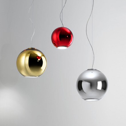 Globo di Luce Pendant Lamp by FontanaArte in different colours