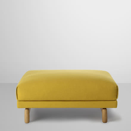 Muuto - Rest Pouf, yellow