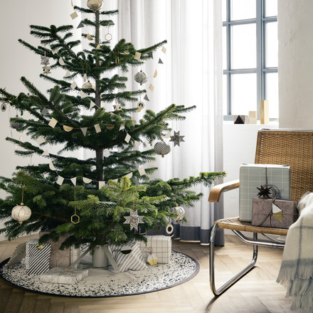 ferm Living - Christmas 2014, ambience with tree and gifts
