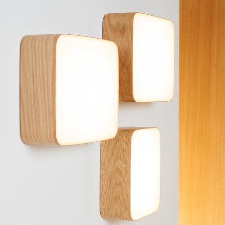 Group picture of the Cube wall lamp by Tunto