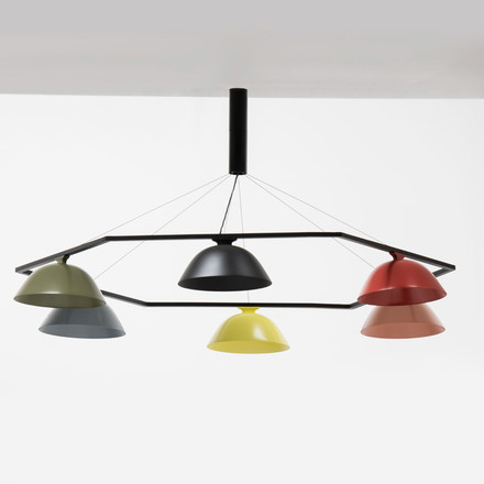 Wästberg - Sempé Pendant Luminaire w103s6 group, colours