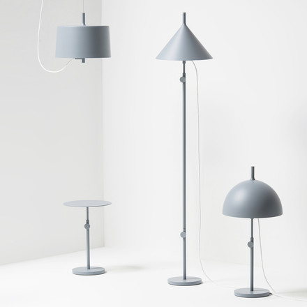 Wästberg - Nendo Lamps w132 collection, blue
