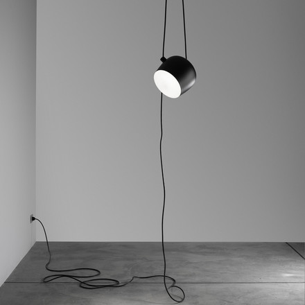 Kopie - Flos - AIM Pendant Lamp black, cable+plug 1