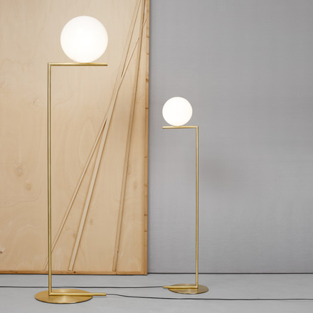 Flos - IC Floor Lamp, brass