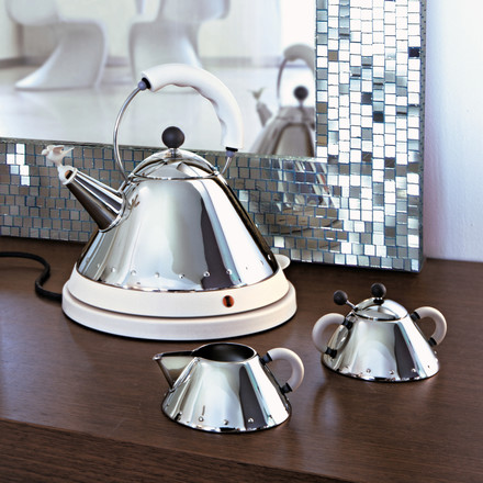 Alessi - MG32 W, electric kettle