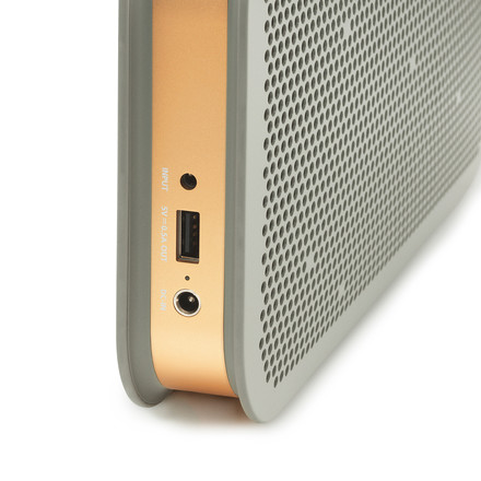Bang & Olufsen - BeoPlay A2 grey, detail view input output