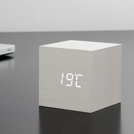 Gingko - Cube, white / LED white