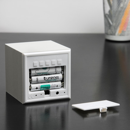 Gingko - Cube, white / LED white, battery