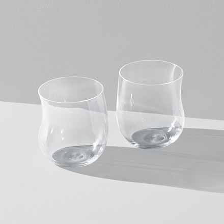 Georg Jensen - Cobra Drinking Glass 0.2 l (set of 2), transparent