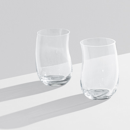 Georg Jensen - Cobra Drinking Glass 0.35 l (set of 2 ), transparent
