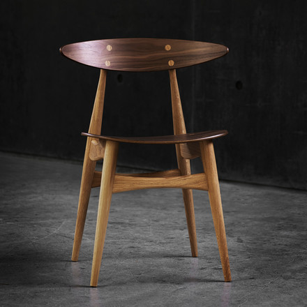 Carl Hansen - CH33, oak, walnut
