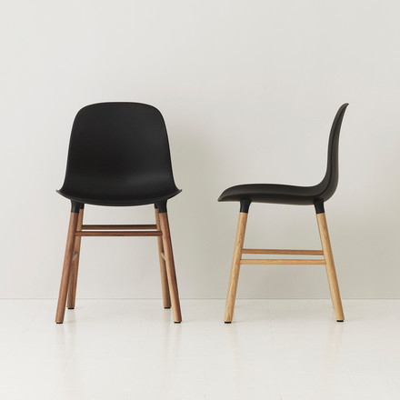 Normann Copenhagen - Form Chair, black