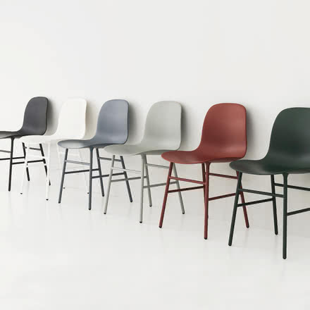 Normann Copenhagen - Form Chair, Steel Legs