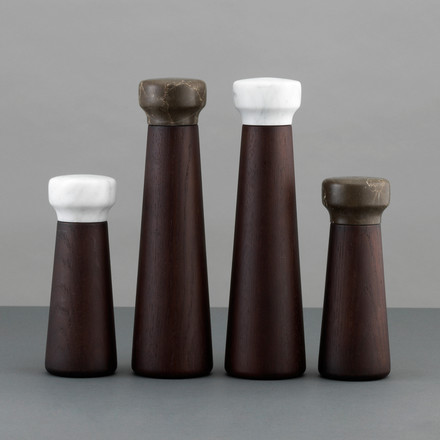 Normann Copenhagen - Craft spice grinder, stained oak - group image