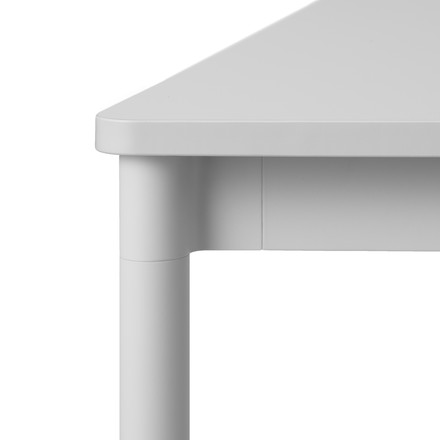 Base Table by Muuto in grey
